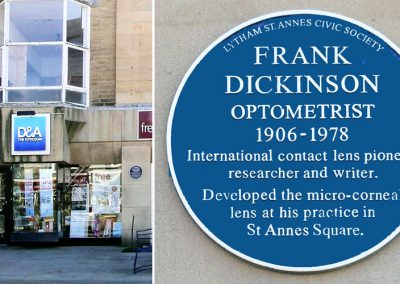 Frank Dickinson Optometrist