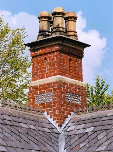 Church Lodge Chimney, Church Road