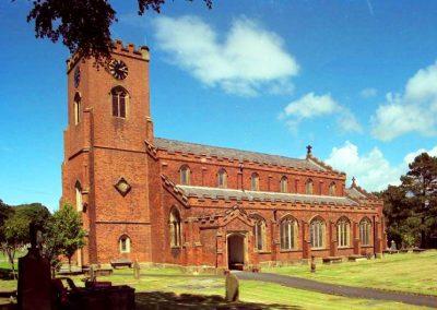 Church of St Cuthbert, Church Road