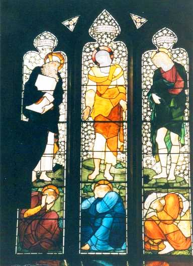 Church of St Cuthbert window, Church Road