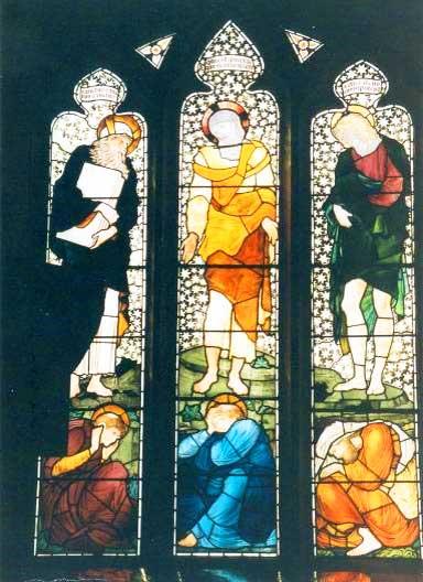 Church of St Cuthbert window, Church Road