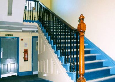 Former Estates Office Staircase, Hastings Place