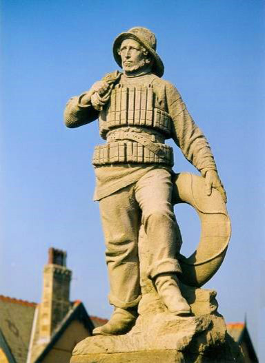 Lifeboat Monument, South Promenade, St Annes