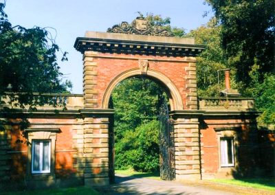 Lytham Hall Arch Entrance Gates
