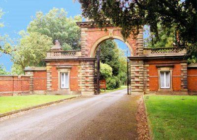 Lytham Hall Park Main Lodges and Gates