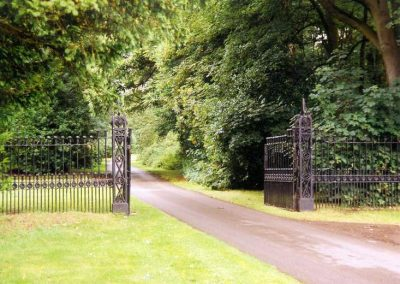 Lytham Hall Park Railings and Gateway