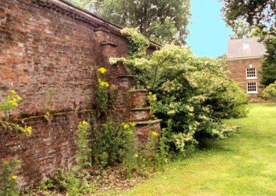 Lytham Hall Park Screen Wall