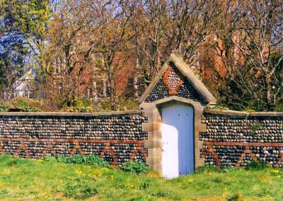 South Boundary Wall, Fairlawn Road, Fairhaven