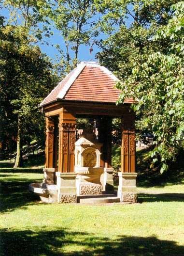 Station Square Clifton Memorial Fountain Lytham