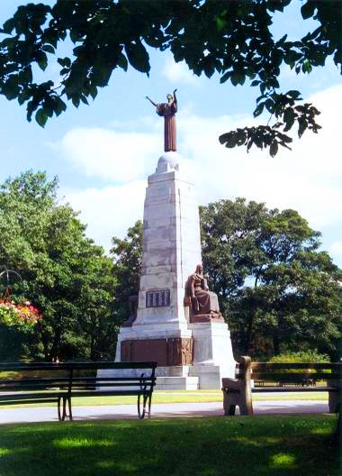 War Memorial, Ashton Gardens, St Annes