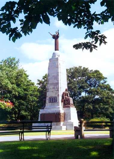 War Memorial, Ashton Gardens, St Annes