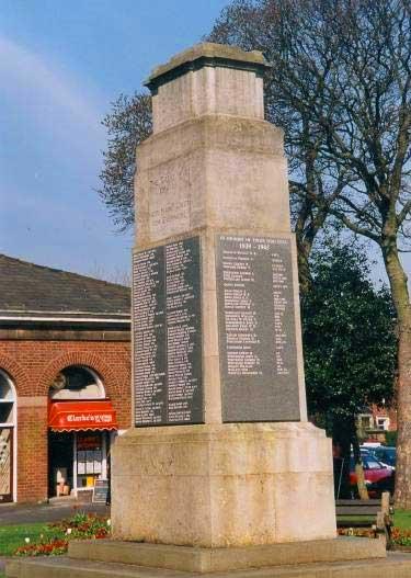 War Memorial, Market Square