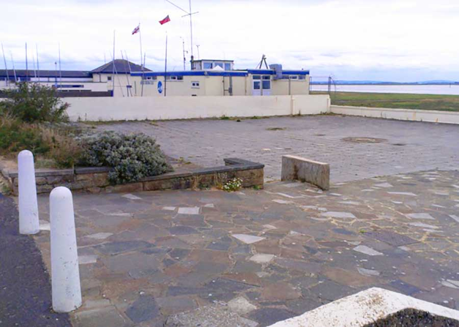 Existing Mussel Tank Site 2016 - Lytham Green