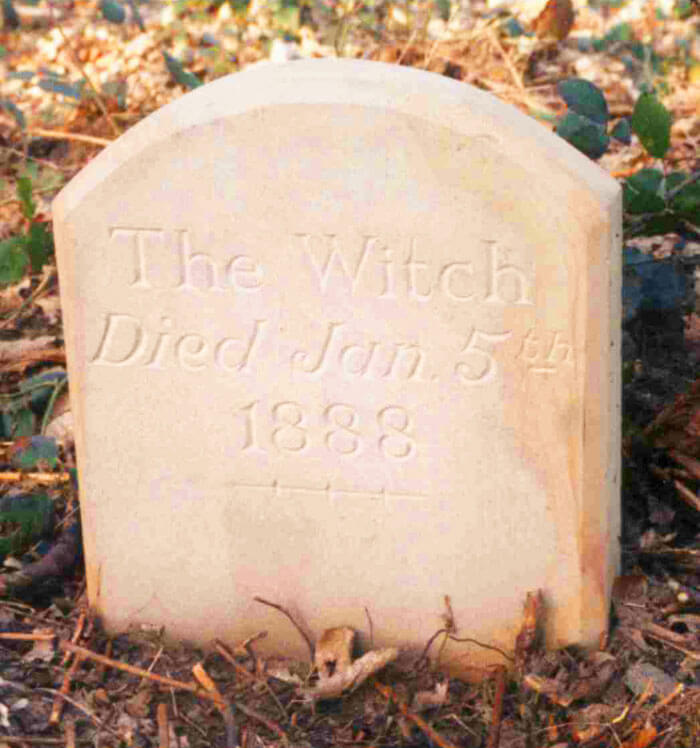 Tombstone of The Witch in Witchwood