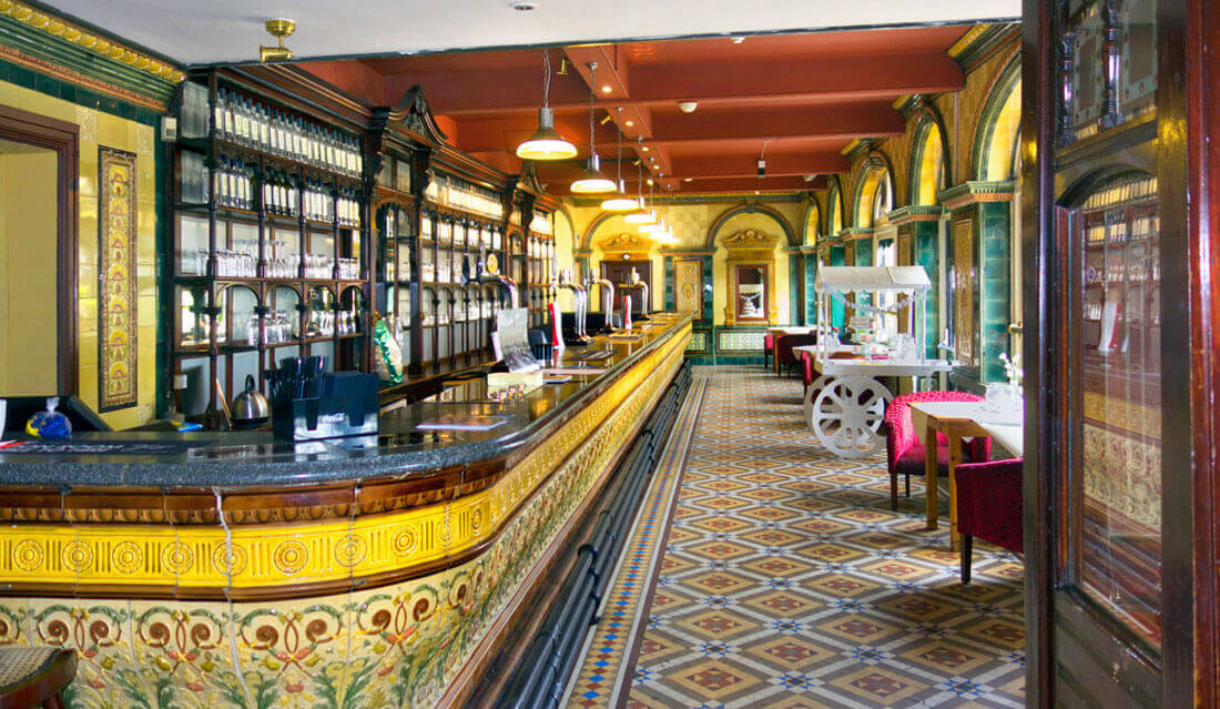 Listed Building Burlington Bar St Annes on Sea