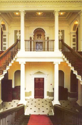 Listed Building - Lytham Hall Staircase