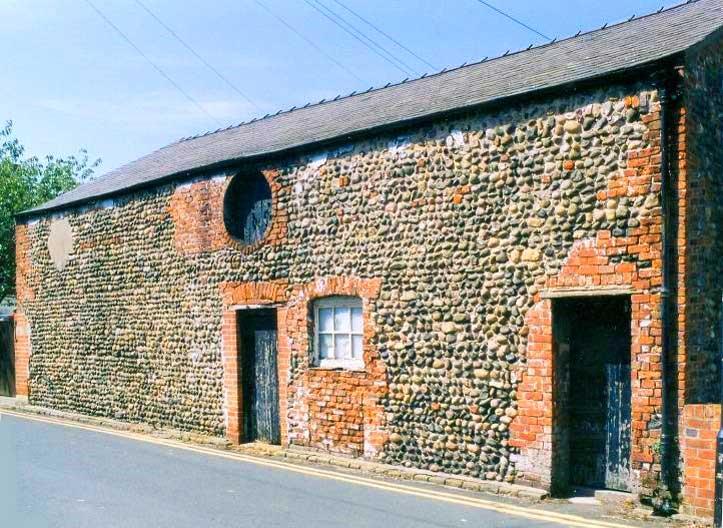 Cobbled barn in Lytham