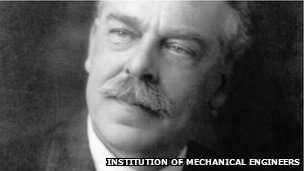 Sir Nigel Gresley. Photo credit: Instition of Mechanical Engineers