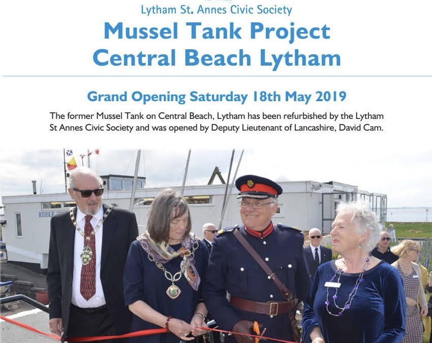 The Mussel Tank Project Central Beach Lytham 2019