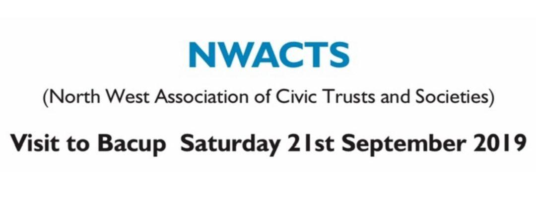 Visit Bacup Saturday 21st September 2019  NWACTrusts and Societies